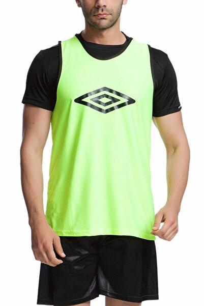 UMBRO Logo Baskılı Neon Yeşil Antrenman Yeleği - 2012400-0802