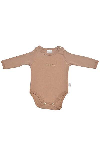Pierre Cardin Baby Pierre Cardin Uzunkol Bebek Body Kahverengi