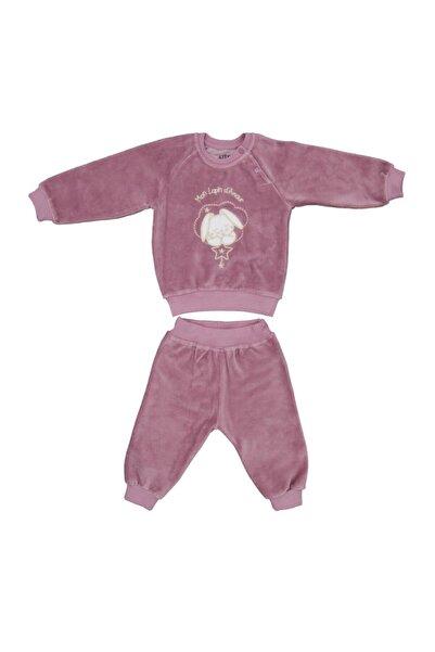 Aziz Bebe Bebek Takımı Gül Kurusu 2'li