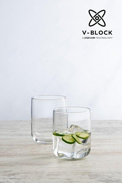 Paşabahçe V-Block Antimikrobiyal Iconic 6'lı Su Bardağı