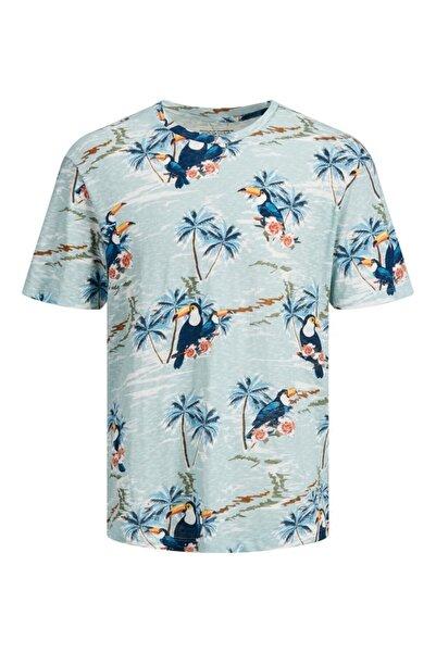Jack & Jones Erkek Baskılı Tshirt