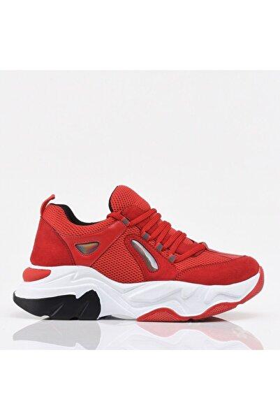 Hotiç Kırmızı Yaya Kadın Spor Ayakkabı