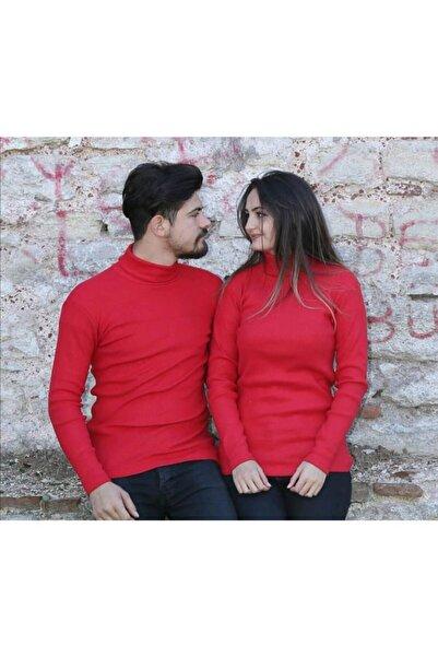 MBGİYİM 2 Adet Boğazlı Sevgili Kombini Kazak