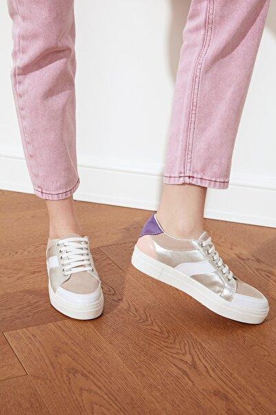 TRENDYOLMİLLA Çok Renkli Kadın Sneaker TAKSS21SN0024