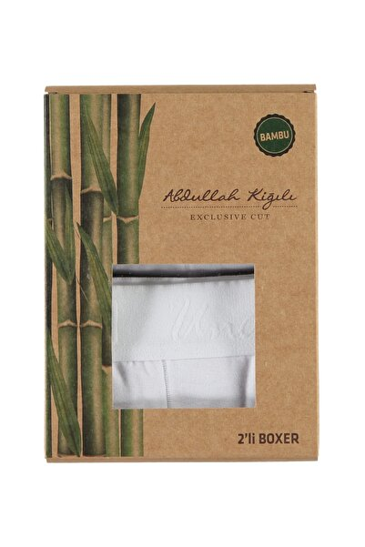 Kiğılı 2'li Bambu Boxer