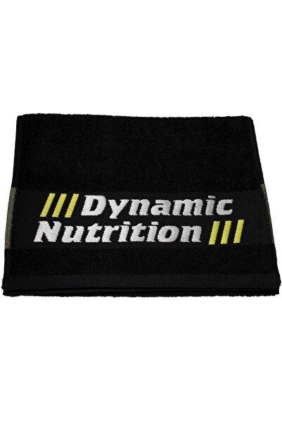 Dynamic Nutrition Dynamic Antrenman Havlusu 30 X 100 Cm (Siyah)
