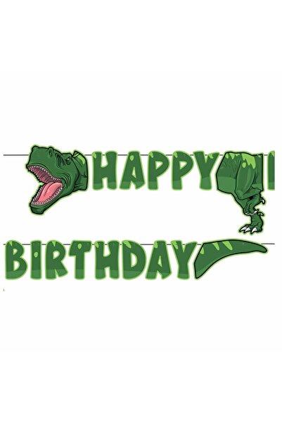 BalonEvi Vahşi Jurassik Park Happy Birthday Yazısı