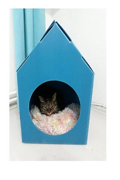 Weblonya Kedi Evi Kedi Kulübesi Katlanır Kedi Yuvası