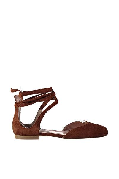 İnci Hakiki Deri Taba Kadın Sandalet 120130000919