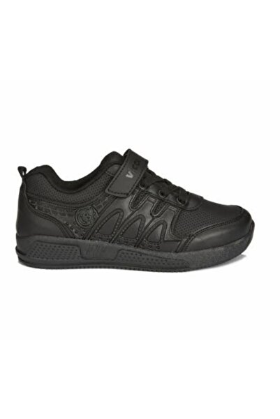 Vicco City Erkek Çocuk Siyah Filet Spor Ayakkabı