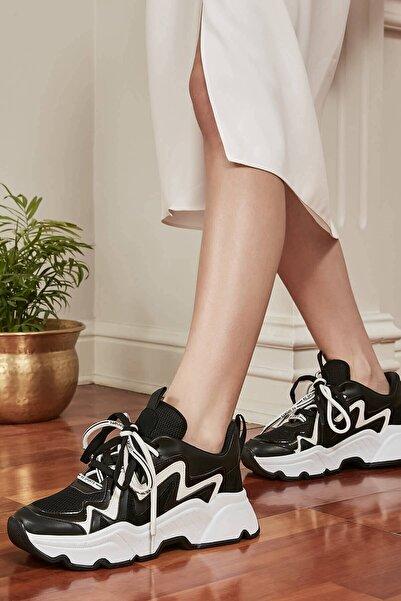 Mio Gusto Jean Siyah Sneaker