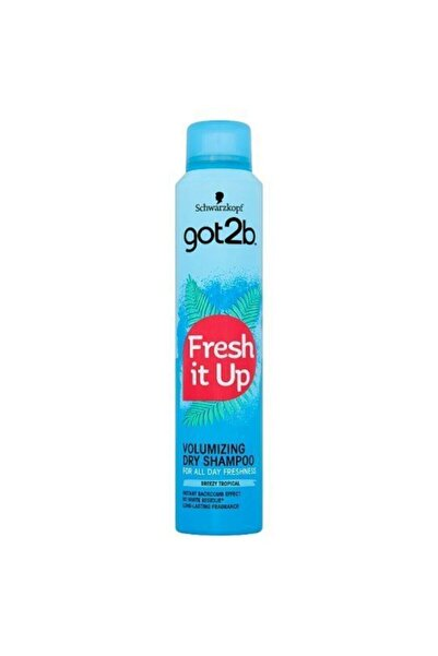 SCHWARZKOPF HAIR MASCARA Got2b Fresh It Up Volume Kuru Şampuan 200 ml