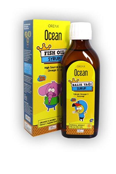 Ocean Portakal Aromalı Ocean Balık Yağı Şurup 150 ml