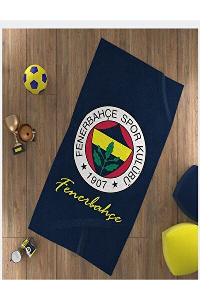 Fenerbahçe Fenerbahçe Arma Logo Plaj Havlusu 75