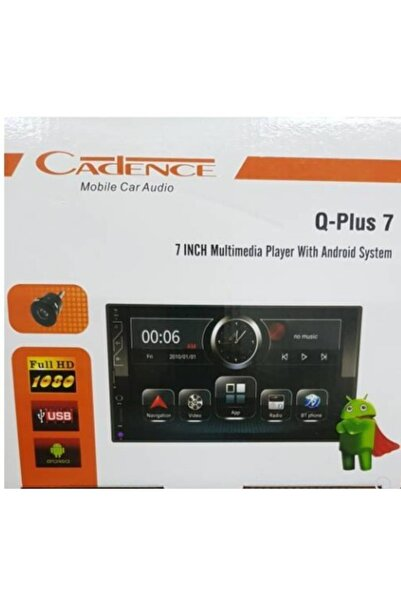 Cadence Q Plus 7 Inç Android Double Teyp