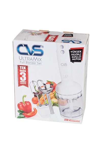 CVS Dn1264 Full Ultramix Siyah Blender Seti