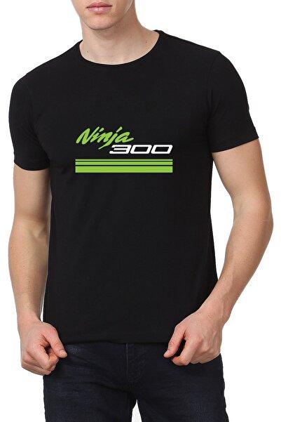 Kawasaki Motosiklet T-shirt Ninja300 Unisex T-shirt