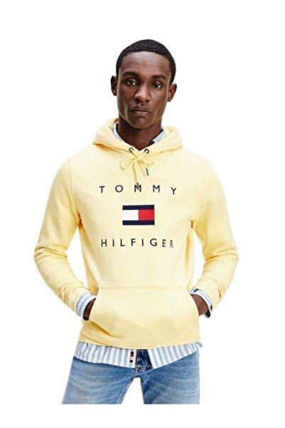 Tommy Hilfiger Flag Logo Erkek Sweatshirt