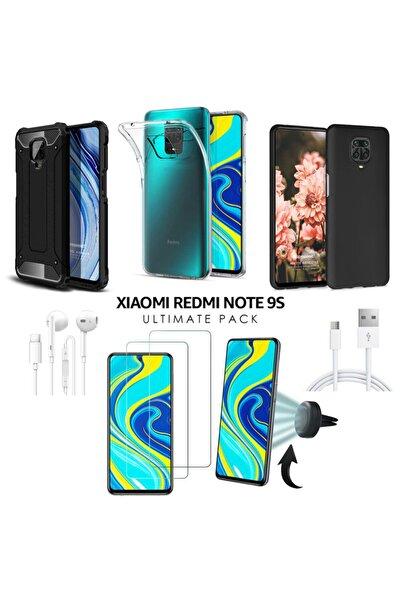 Xiaomi Microsonic Redmi Note 9s Kılıf & Aksesuar Seti