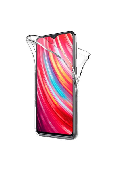 Xiaomi Microsonic Redmi Note 8 Pro Kılıf 6 Tarafı Tam Full Koruma 360 Clear Soft Şeffaf