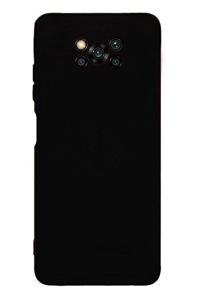 MobilCadde Eiroo Lansman Xiaomi Poco X3 Siyah Silikon Kılıf