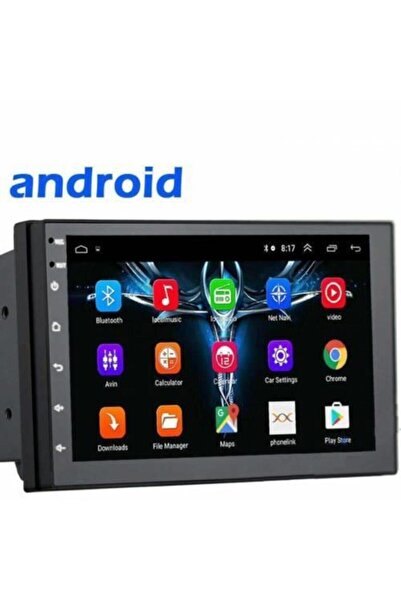 DEXTEL Dex-700 7 Inc Ekran Android 8.1 Double Araç Oto Teyp