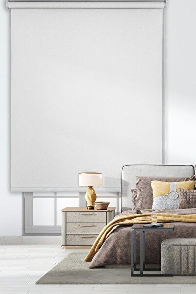 Rengin Home 1. Sınıf Mat Beyaz Stor Perde