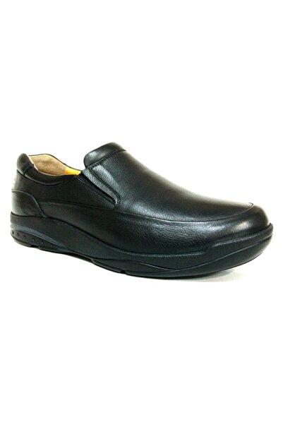 PUNTO Bağcıksız Topuk Dikenine Özel,yumuşak Deri,kalın Tabanlı Ortapedik Günlük Ayakkabı