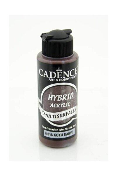 Cadence Hybrid Multisurface Akrilik Boya 120 ml. H-018 Koyu Kahve