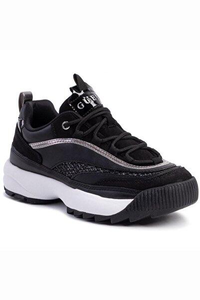 Guess Siyah Kadın Sneaker FL5KAYELE12