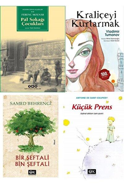 Optimum Kitap Pal Sokağı Çocukları, Kraliçeyi Kurtarmak, Bir Şeftali Bin Şeftali Ve Küçük Prens Kitap Seti