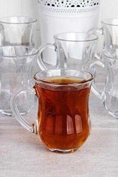 6'lı Kulplu Çay Bardağı