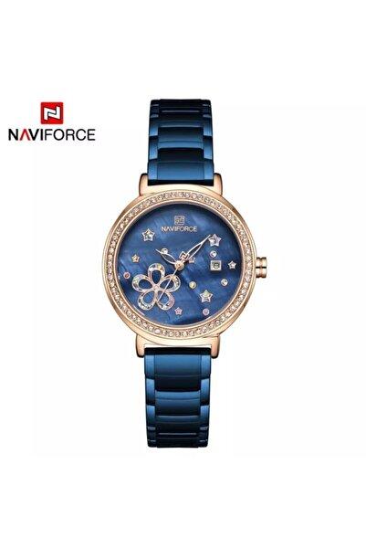 Naviforce Analog Çelik Kordon Kadın Kol Saati Nf5016rg/be