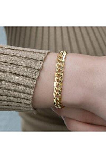 Kadın Gold Çelik Bileklik