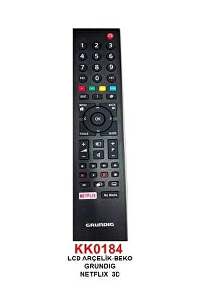 Rc 3304805/01b Rm-l271b Netflıx Tuşlu Lcd-led Tv Kumanda (ts5187r-a1)