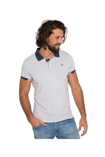 Camp David Erkek Gri Polo T-shirt