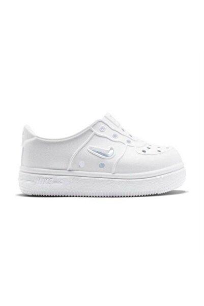 Nike Kids Unisex Çocuk Beyaz Foam Force One Ayakkabı At5243-100
