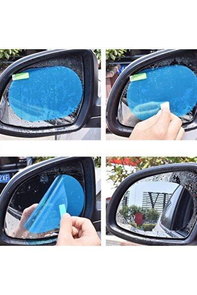 İstocToptan Oto Dış Ayna Yağmur Kaydırıcı Araba Yan Cam Dikiz Aynası Filmi Buğu Önleyici Su Tutmaz Film
