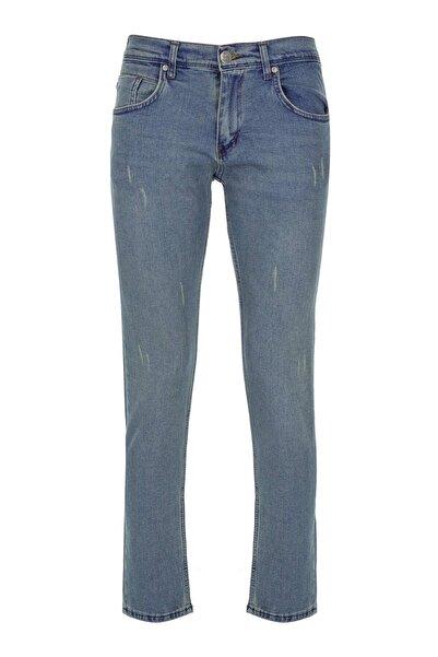 İgs Erkek Koyu Mavi Slim Fit Pantolon