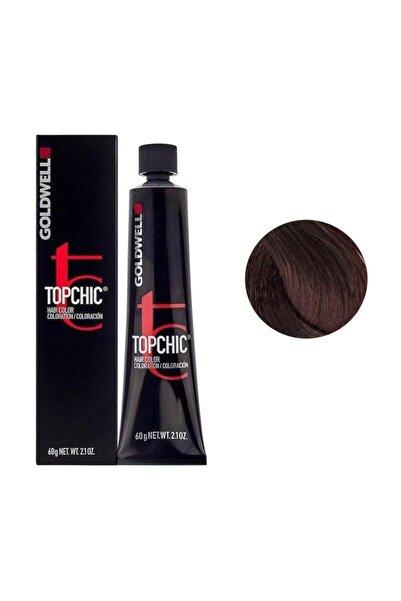 GOLDWELL Topchic Kalıcı Saç Boyası 60 ml - 5rb Koyu Kırmızı Kayın + Oksidan