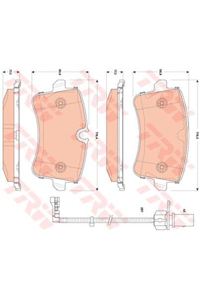 TRW Fren Balatası - Audı A8 - 3.0 Tdı Quattro-155 Kw 2010 - 2013