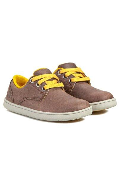 CLARKS Erkek Çocuk Kahverengi Holbay Fun Bağcıklı Ortopedik Ayakkabı