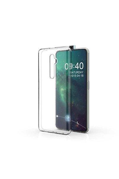 Oppo Reno 2z Kılıf Şeffaf Esnek Süper Silikon