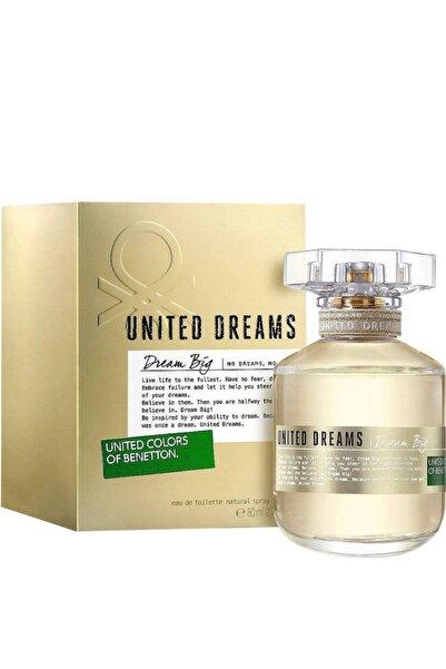 Benetton Dream Big Edt 80 ml Kadın Parfümü 8433982003158
