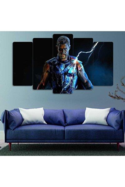 Evonya Marvel, Thor - 5 Parçalı Dekoratif Tablo
