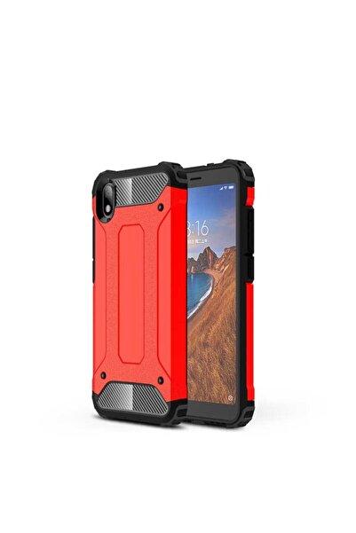 Cepaxesuar Xiaomi Redmi 7a Kılıf Çift Katmanlı Tank