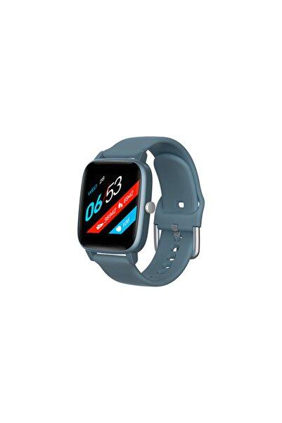 Everest Akıllı Saat Ever Watch Ew-511 Vücut Isı Göstergeli Android/ıos Smart Mavi