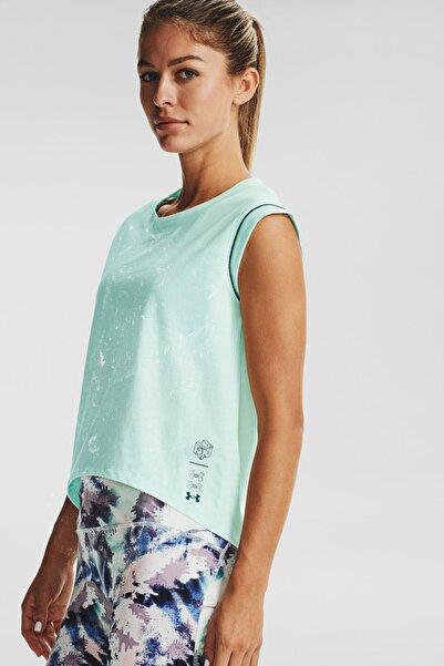 Under Armour Kadın Spor T-Shirt - Ua Run Anywhere Ss - 1356220-403