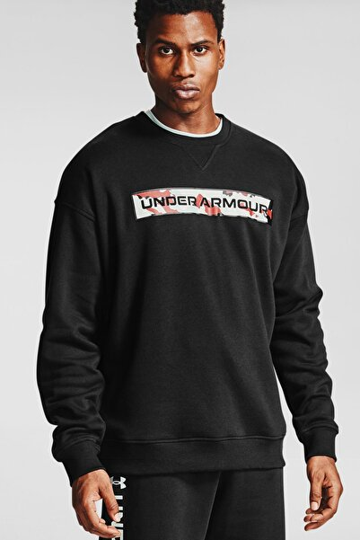 Under Armour Erkek Spor Sweatshirt - Ua Rival Fleece Camo Wm Crew - 1357097-001
