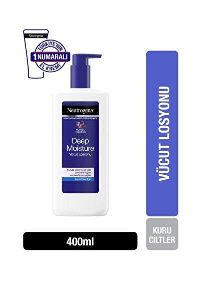 Neutrogena Deep Moisture Parfümlü Vücut Losyonu 400ml